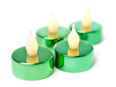 Westinghouse 16-Pc Green LED Tealights