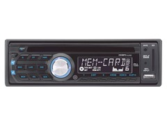 In-Dash AM/FM-MPX/CD/USB/SD/MP3 Player