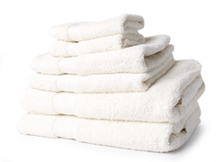 Egyptian Cotton 6pc Towel Set - Ivory
