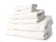 Egyptian Cotton 6pc Towel Set - Ivory