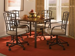 Jefferson 5-pc Castered Dining Set