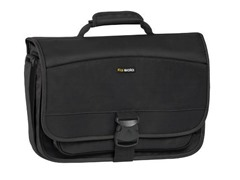 "15.6"" Laptop Messenger Bag - Black"