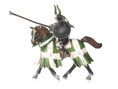 Taurus Tournament Knight on Horse
