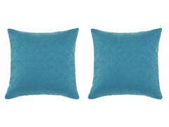 Sensations Teal 17x17 Pillows S/2