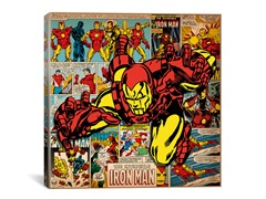 Iron Man on Iron Man Covers & Panels Square