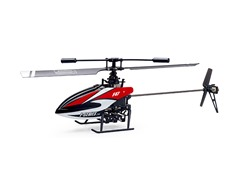 "Riviera 2.4Ghz 10"" F47 4CH Red R/C Helicopter"