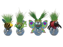 Grow-a-Head Bugs 4-Pack