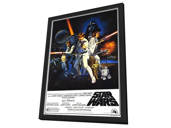 27 x 40 star wars poster