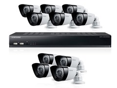 16-Channel / 10-Camera DVR Security System with 2TB HD