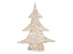 "27"" White Champagne Sparkle Vine Tree"