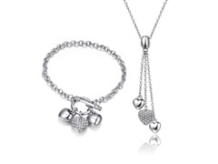 Mestige Swarovski Elements Charm Set