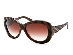 Women's Sunglasses, Brown/Brown Gradient