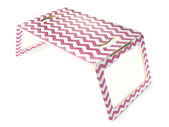 Pink Chevron Multi-Purpose Table
