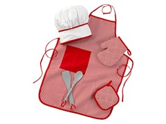 Tasty Treats Chef Red Accessory Set