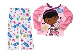 Doc McStuffins 2-Piece Fleece Set (4T)