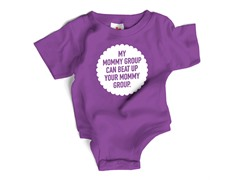 """Mommy Beat up"" Bodysuit (6-12 mos)"