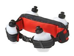4 Bottle Waistpack - Black/Gray/Red