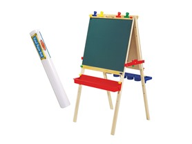 Melissa & Doug Easel & Paper Roll Bundle