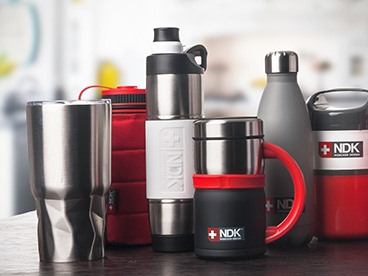 NDK Insulated Food and Drinkware