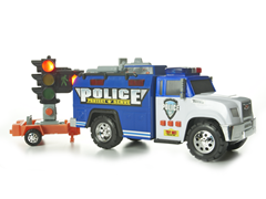 Roadway Rig Police Truck
