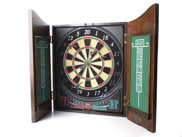 Sportcraft Zenith Dartboard Cabinet Set