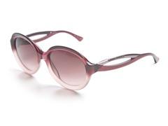 Plum Sunglasses w/ Gradient Pink Lens