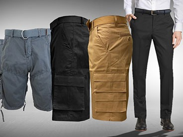 Men's Shorts and Pants by Harvic