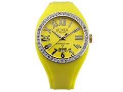 Men's BOX 40Z YELLOW Yellow Dial Watch