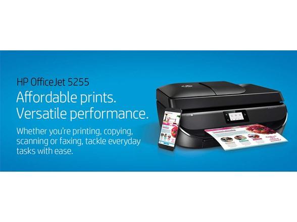 HP OfficeJet 5255 Wireless AIO Printer
