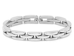 "8.5"" Half Moon Link Bracelet"