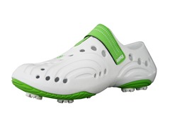 Women's Golf Spirit Shoes - White/Lime Green
