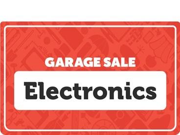 Electronics Garage Sale