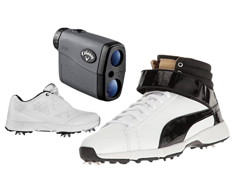 Golf Shoes & Rangefinders