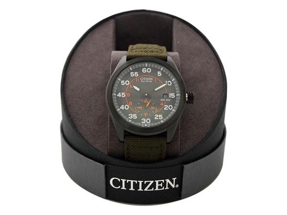 Citizen Men's BV1085-22H Eco-Drive Military Strap - Fashion