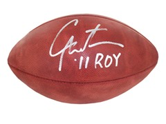 Cam Newton Signed and Inscribed ROY NFL