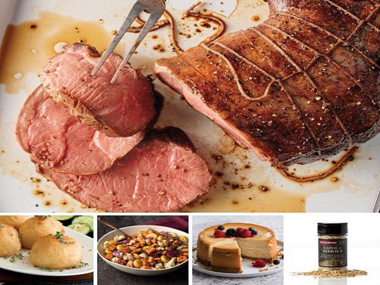 Omaha Steaks NZ Leg of Lamb Dinner