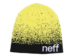 Neff Spray Beanie - Yellow/Black