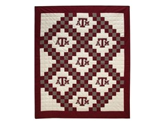 Texas A&M Quilted Throw