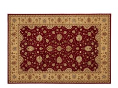 Majesty Rug Red/Camel