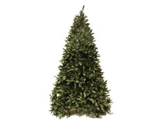 Douglas Fir Tree 12' Prelit Clear
