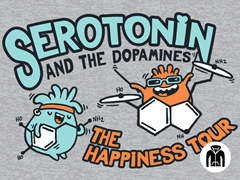 Serotonin & the Dopamines Zip Hoodie