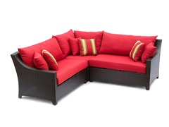 Cantina 4-Pc Corner Sectional & Table
