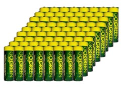 AA Alkaline Batteries - 72 Pack