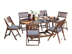 7-Piece Fold and Store Table Set