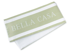 Bella Casa Kitchen Towel - Sage
