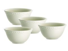 "Paula Deen Whitaker Vanilla 6"" Bowls - 4"
