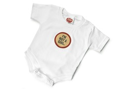 "Wry Baby Bodysuit - ""I'm Not A Girl"""