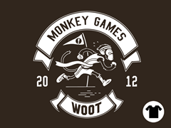 2012 Woot Monkey Games - Brown