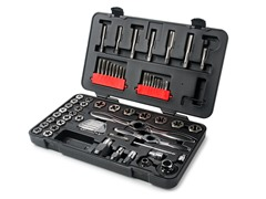 65-Piece Ratcheting Tap & Die Metric Set