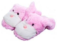 Cuddlee Slippers - Bunny